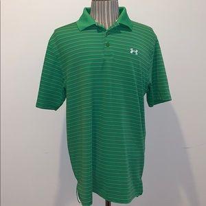 UNDER ARMOUR heat gear polo golf shirt *